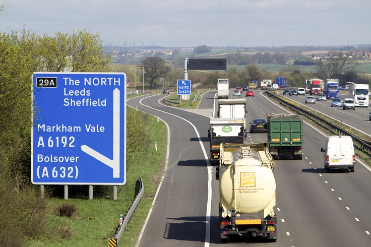 Sheffield City Region's Enterprise Zone is at the centre of the UK's most significant highway - the 183-mile M1 Motorway.