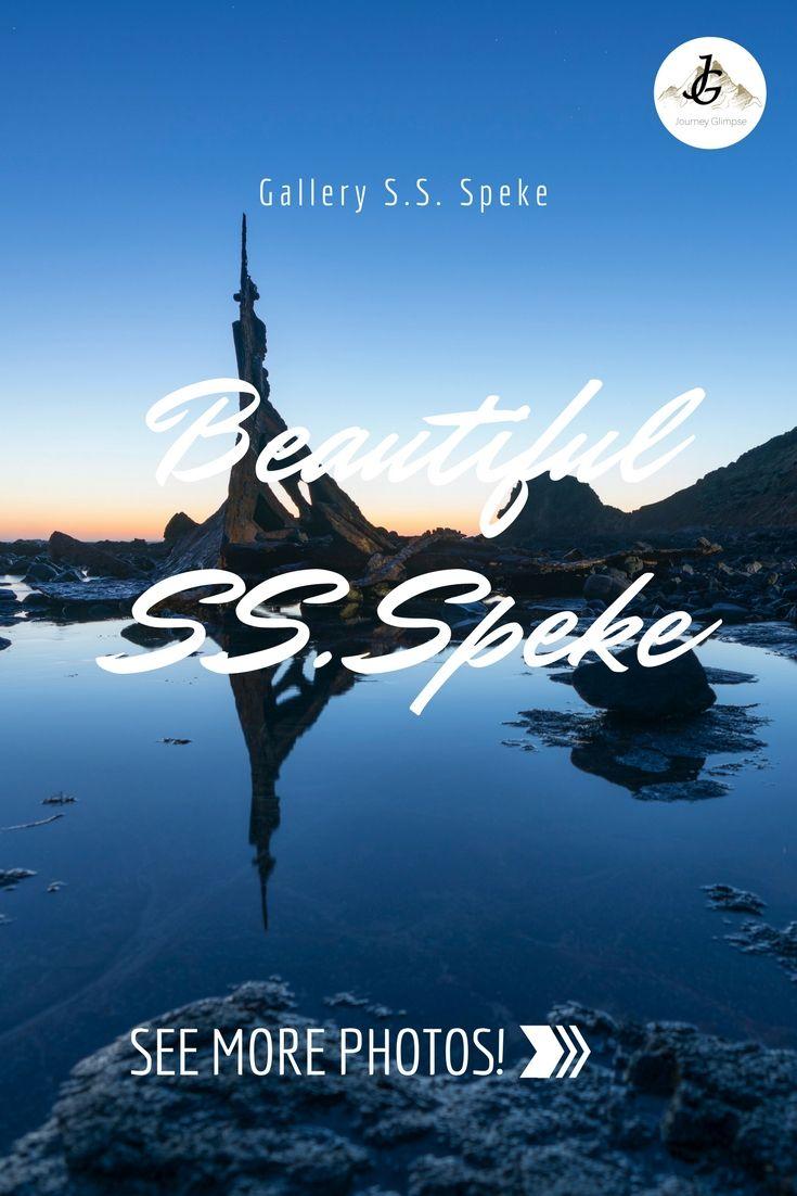 Die S.S. Speke ist ein Schiffswrack vor der Küste von Philipp Island in Australien.