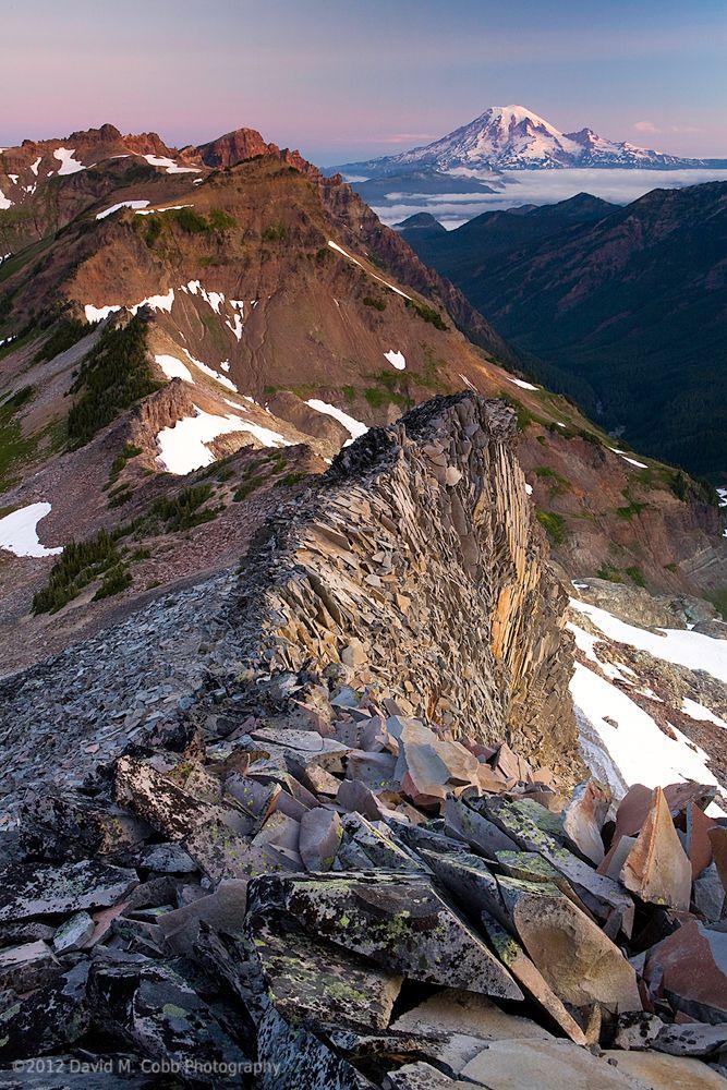 Ridge Walk, Goat Rocks Wilderness, South Cascade Range, Washington State