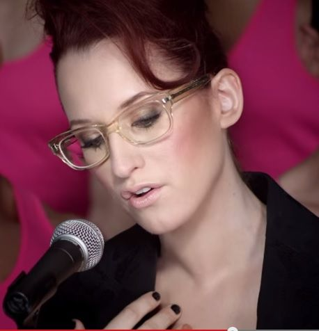 "Replicate Ingrid Michaelson's makeup look from her ""Girls Chase Boys"" video with the products on this Board!"