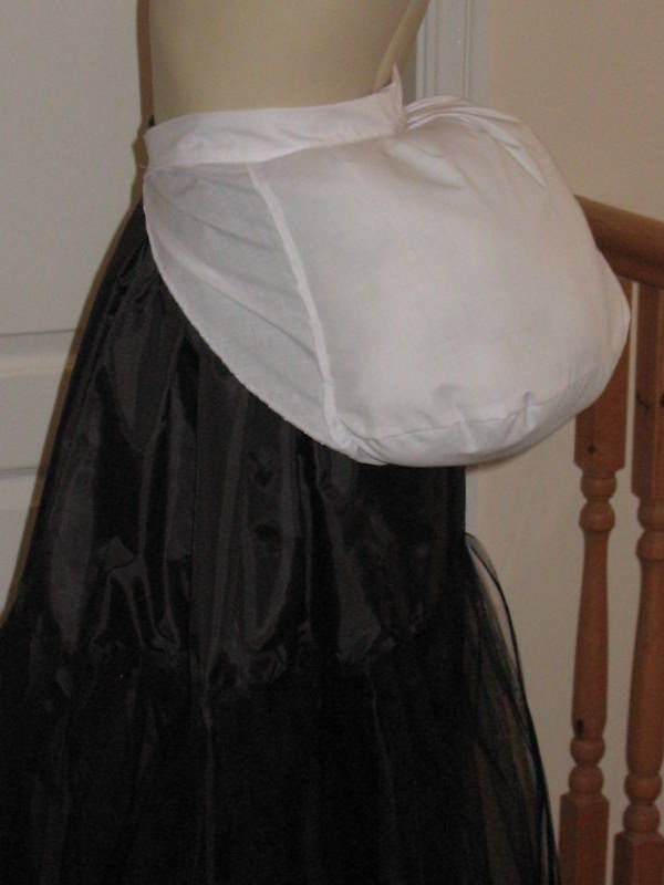"VICTORIAN STYLE PERIOD BUSTLE PAD - Small ( To Fit Waist 28"" - 32"" )"