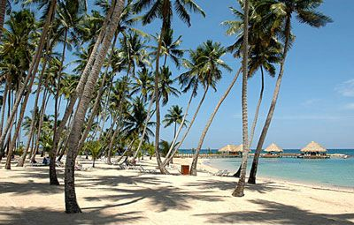 Boca Chica Dominican Republic - Google Search:  La playa se llama Boca Chica porque se comunica con el mar por dos bocas, la que está al oeste es la más grande de las dos y se utiliza para ir hacia el pueblo de Andrés de Boca Chica, y la otra boca (la chica) comunica el mar con dicha playa. En  la playa de Boca Chica se puede caminar en el agua y la profundidad apenas se siente, el agua no llega más de la cintura . Es la más familiar de todas las playas de la República Dominicana.