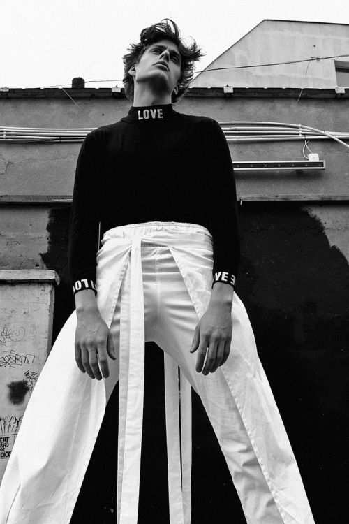 The Gloss. Photo by Krzysztof Waszak. Styling by Mateusz Opacinski.  menswear mnswr mens style mens fashion fashion style editorial