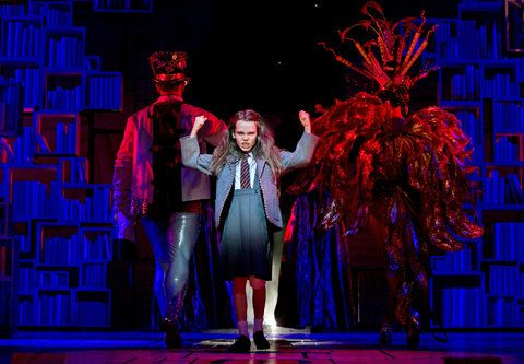 Oona Laurence in Matilda