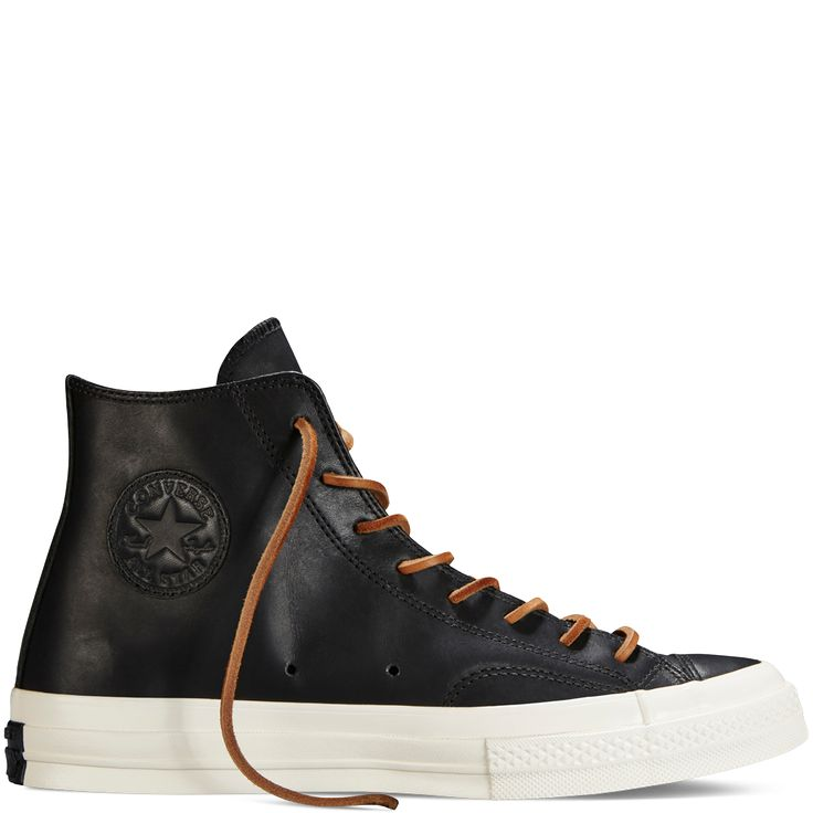 Converse All Star Chuck '70 Leather Black - SLICK!