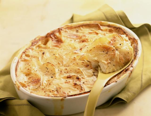 Creamy gluten-free scalloped potatoes make an economical, yet elegant side dish fit for special occasions and holiday menus.