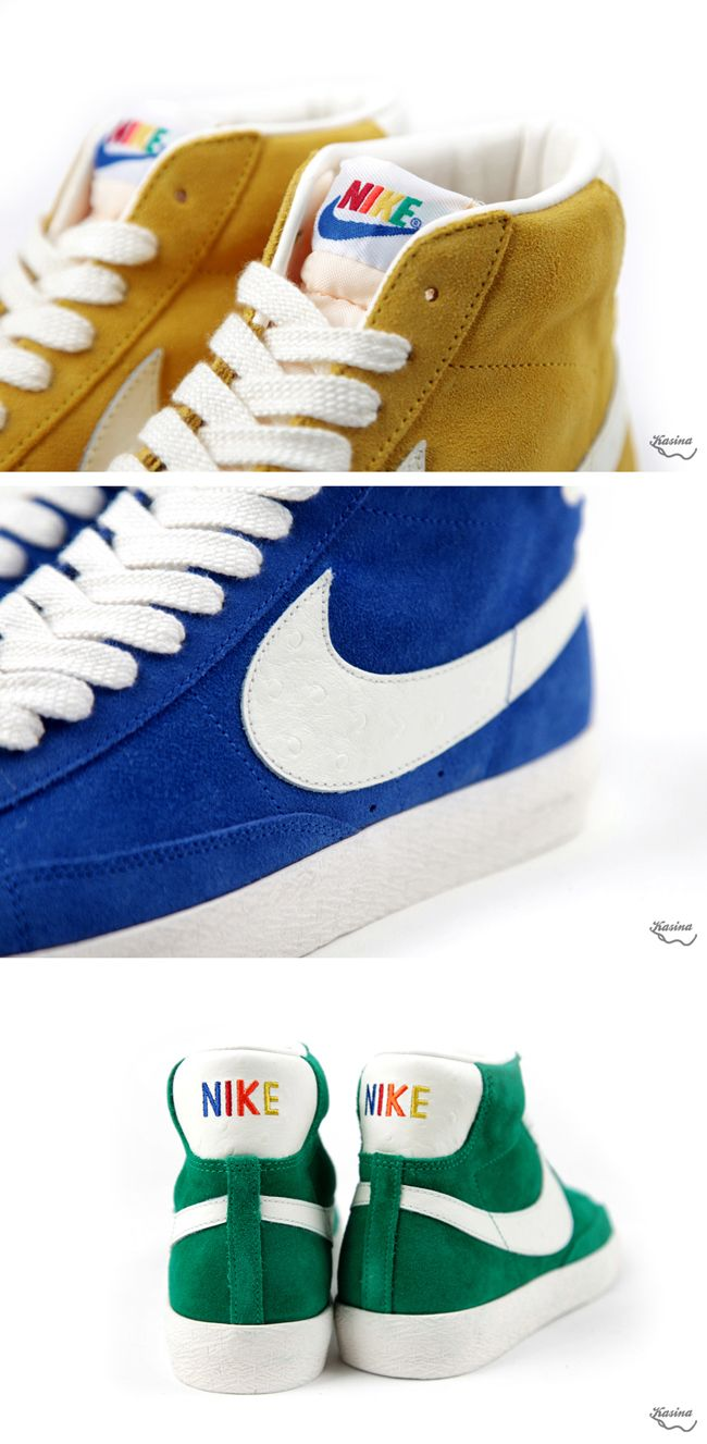 Nike Blazer Mid VNTG QS Ostrich Pack Clothing, Shoes & Jewelry : Women : Shoes amzn.to/2kHQg0c