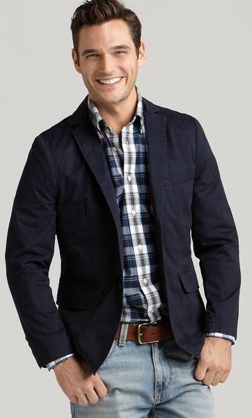 Подбор джинсы под черный пиджак