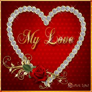 My Love   love heart animated love quote gif i love you valentines day valentine's day love greeting