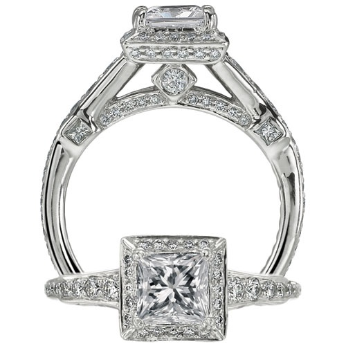 Perfect For The Contemporary Couple Modern Engagement Rings From Ritani Offer A Fresh Spin On Tradition Of