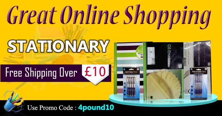 Buy all #Stationery products at one place #4Pound Shop Now : http://www.4pound.co.uk/stationery