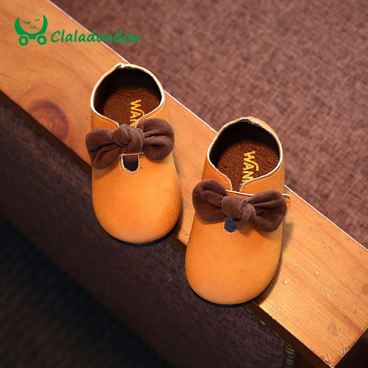 Shoes For Girls PU Leather Pure Red Baby Walker Shoes Online Yellow Princess Dance Soft Shoes Toddler Girls Baby Yellow Shoe