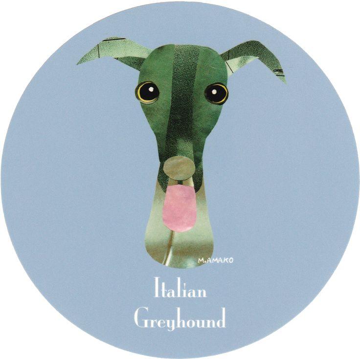 マイ @Behance プロジェクトを見る : 「006   Italian Greyhound」 https://www.behance.net/gallery/42195299/006-Italian-Greyhound
