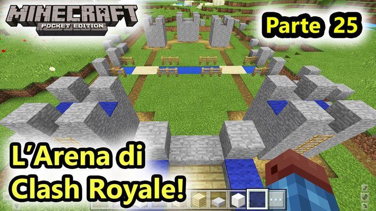 Minecraft PE - L'Arena di Clash Royale! - Android - (Salvo Pimpo's)