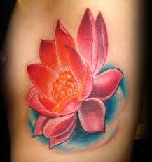Resultado de imagen para flower tattoo colors