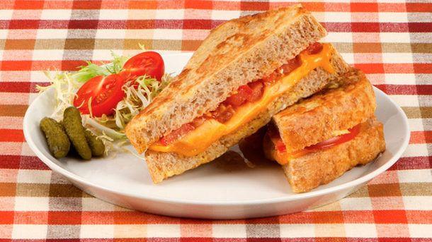 Tomato Croque Monsieur
