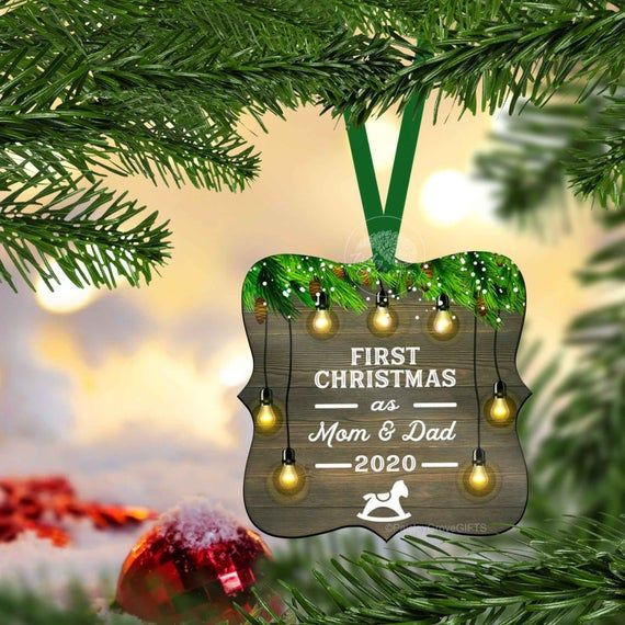 New Parents Christmas Ornament 2021