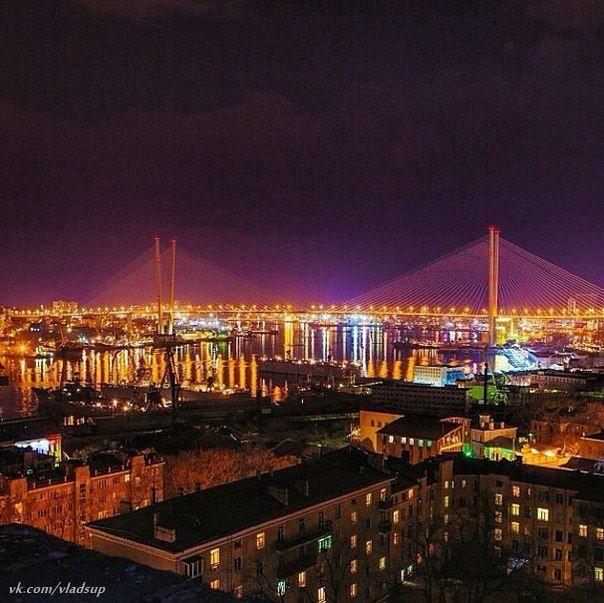 夜景がきれいなウラジオストク。ウラジオストク 旅行・観光の見所!