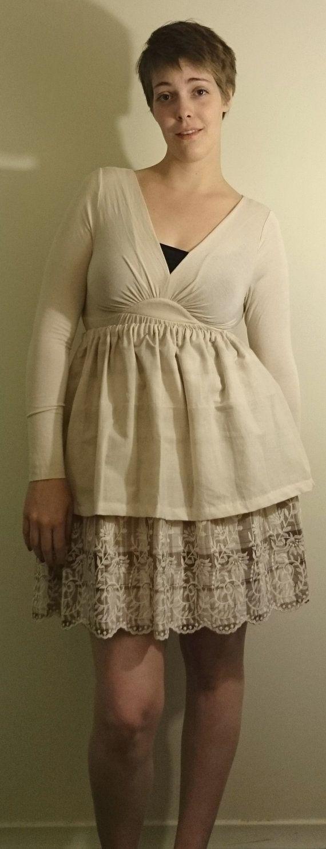 """Two Tea Plaid Cotton Skirt - $20 100% Cotton  Measurements: Fits Waist 30""""-38"""""""