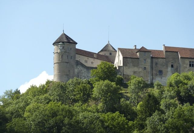 Château de Belvoir dans le Doubs