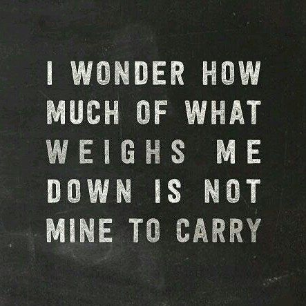 We Are Not A Mule Werent Designed To Carry Excess Baggage Faith