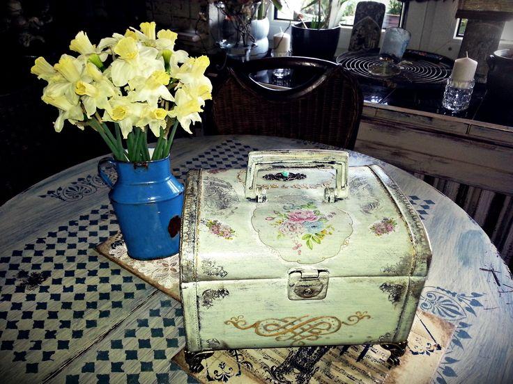 nowe życie kuferka :)