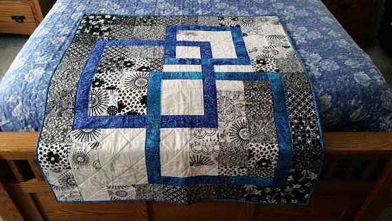Hand Made Lap Quilt L17