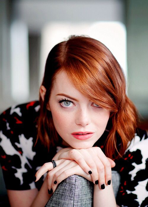 Emma Stone. (Muse for Lena Murphy. Funny Work BFF. Professional Eye-Roller. Consummate Fangirl.) #TheFollow