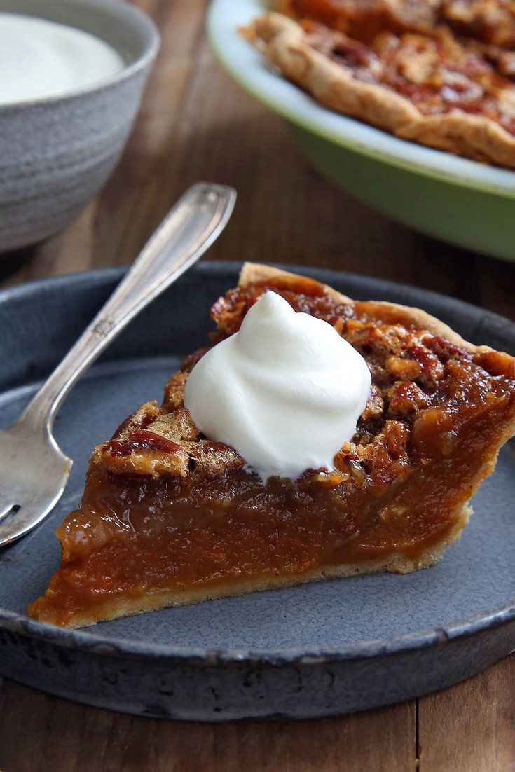 This recipe came to The Times in 1983 from Paul Prudhomme, the chef who put the cooking of Louisiana on the American culinary map Like its traditional pecan pie cousin, this is very sweet, so serve it with a little Chantilly cream on top.