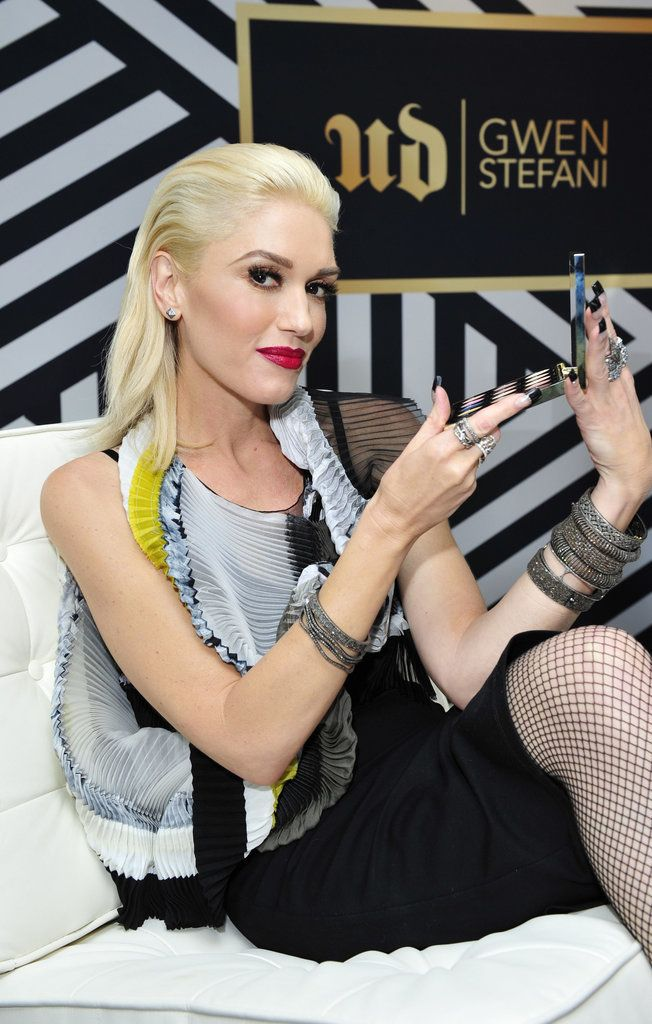 Gwen Stefani Interview Urban Decay Collaboration   POPSUGAR Beauty