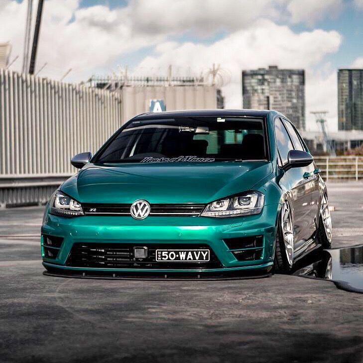 Golf 7 R Car Volkswagen Volkswagen Gti Sports Cars Luxury