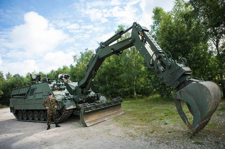 Leopard 2-geniedoorbraaksysteem (Kodiak)