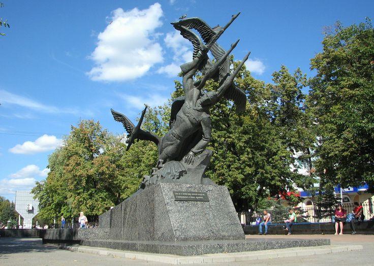 Памятник Журавли - Могила неизвестному солдату