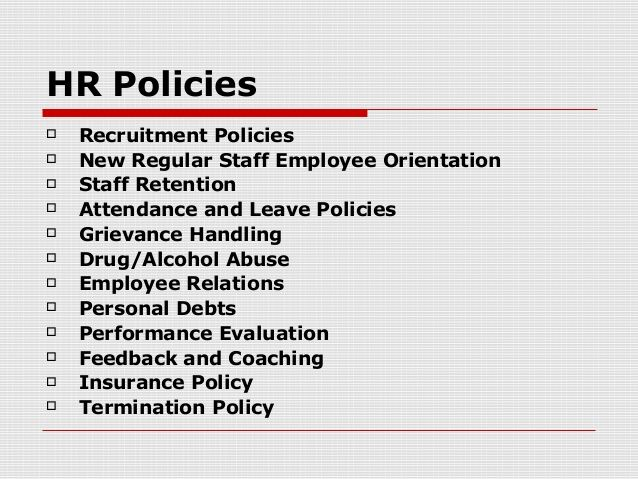 7 best HR POLICIES images on Pinterest Attendance, Advertising - staff evaluation form