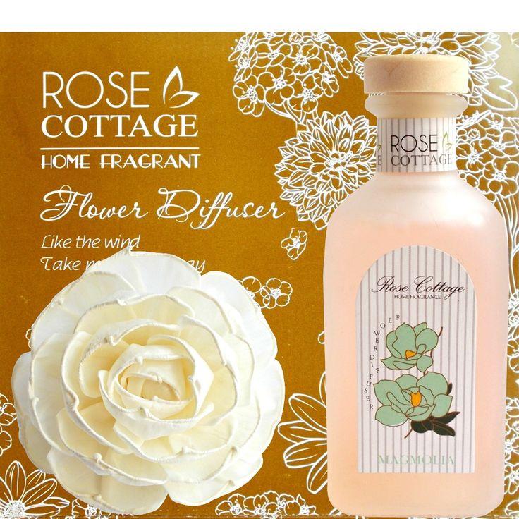 Lasa-ti simturile purtate pe petale de magnolie si bucura-te de miresme florale delicate la fiecare pas … Acest parfum va da o stare de bine in orice coltisor al casei este raspandit, creand o atmosfera calda si primitoare, cu un aer cottage ...
