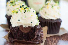 muffins biere ganache whisky, pour vos réceptions d'amis voila une recette simple pour faire des muffins délicieux et épater vos amis.