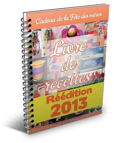 Le livret gratuit rempli d'idées de bricolages de la fête des Mères est disponible, dans sa réédition 2013... Un clic et il est à vous.