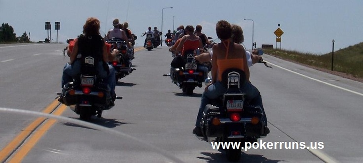 Free Listing for all motorcycle poker runs, events, rallies, and other events