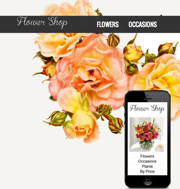 12 Best Florist Websites Images On Pinterest