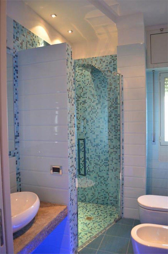 Nieuwe badkamer kleuren zijn erg leuk