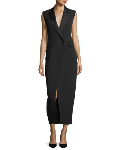 07c623d76c9 CAMILLA AND MARC ABRIETTA SLEEVELESS TUXEDO MIDI COCKTAIL DRESS.   camillaandmarc  cloth