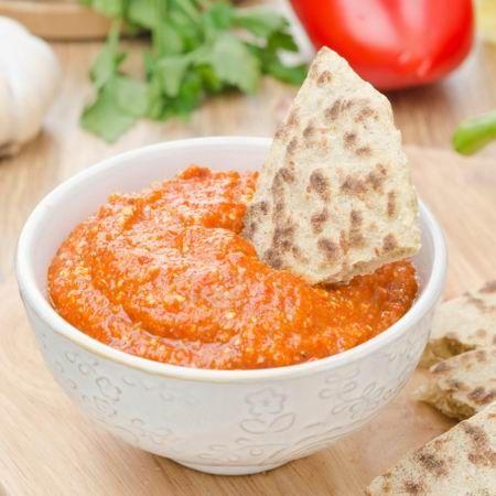 Muhammara (török sültpaprikás mártogatós) Recept képpel - Mindmegette.hu - Receptek