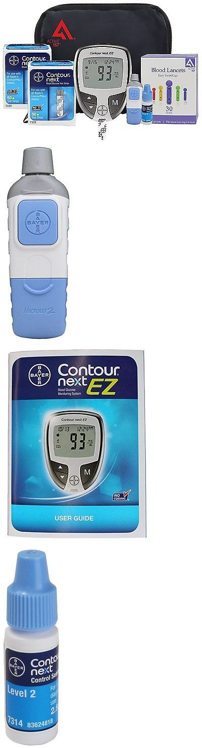 Monitoring Kits: Bayer Contour Next Ez Diabetic Testing Kit 100 Strips 100 Lancets + Bonus Case -> BUY IT NOW ONLY: $41.98 on eBay!