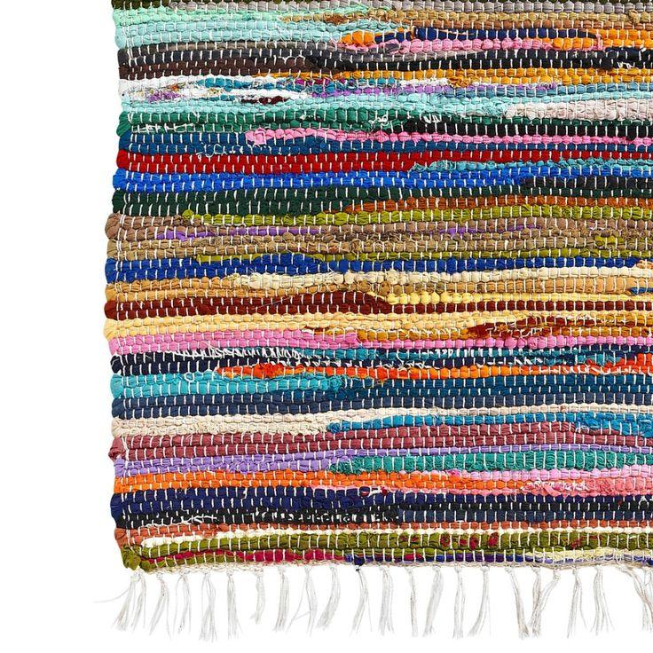 Chodnik multicolor RECYCLED - agamartin.com - Design Skandynawski, Meble Skandynawskie, Duńskie, Industrialne, Retro, Vintage, Organic, Fabr...