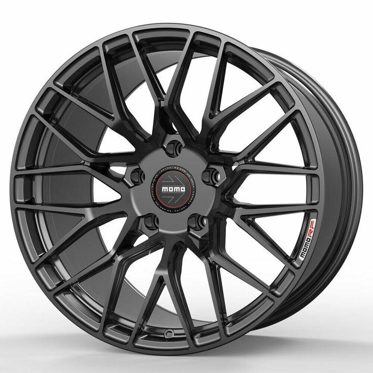 "19"" MOMO RF20 Grey 19x9 19x10 Concave Wheels Rims"