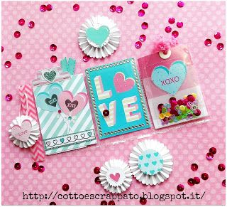 Cotto e Scrappato: Mini Pocket Letter - Little Hot Tamale Creative Sq...