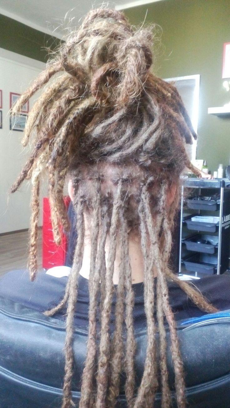 Repair Natural dreads in proces