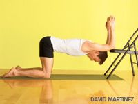 Excellent shoulder openers to tone arms and help avoid rotator cuff injury
