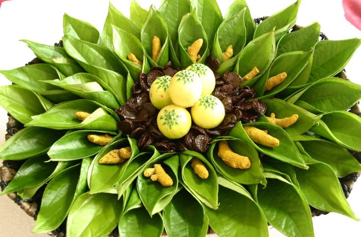 betel leaf decorations