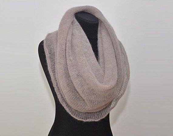 Infinity Scarf Knitting Pattern Mohair : 17 Best ideas about Infinity Scarf Knit on Pinterest ...